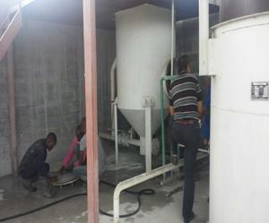 设备在赞比亚调试现场